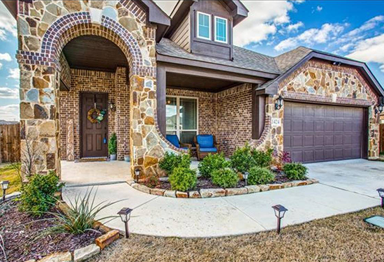 Home located in Crowley, TX